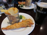 fish and chips and Guinness